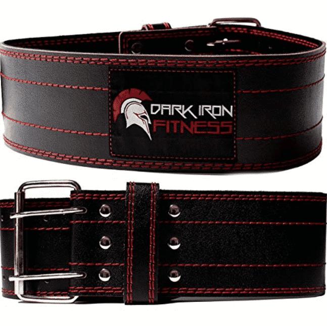 Dark Iron Fitness' Leather Weightlifting Belt