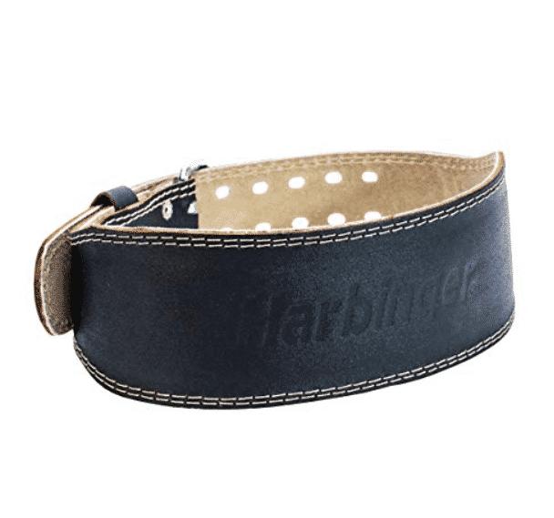 Harbinger Fitness' Padded Contoured Weightlifting Belt