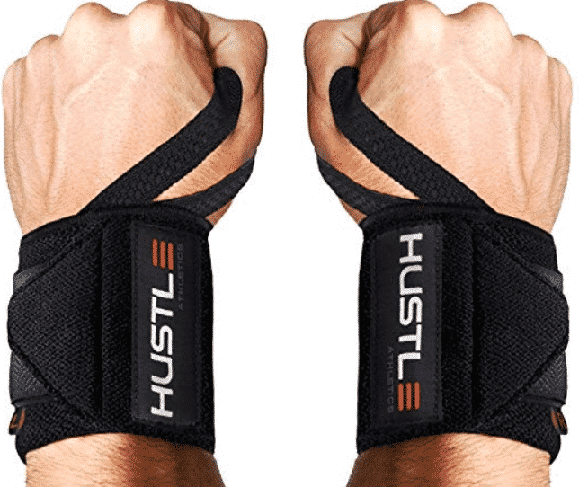 Hustle Athletics Wrist Wraps Weightlifting