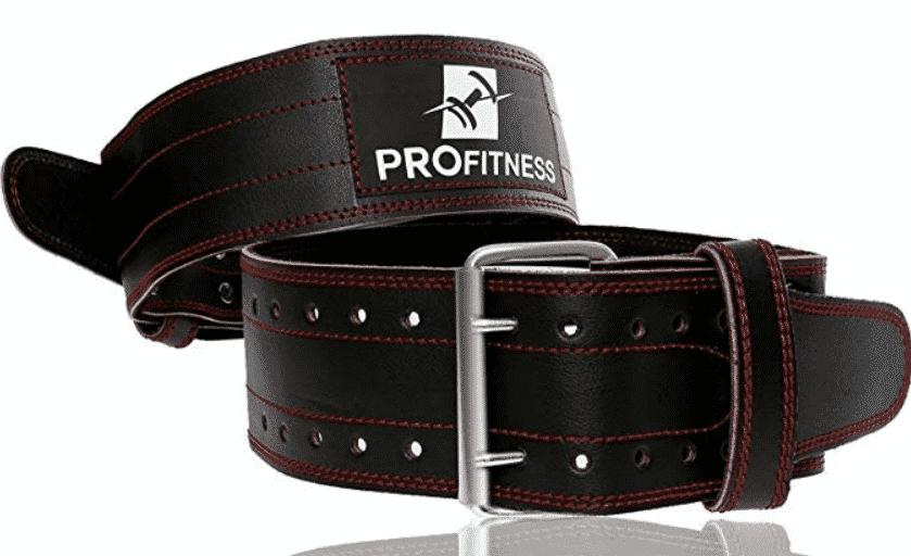 ProFitness Leather Workout Belt