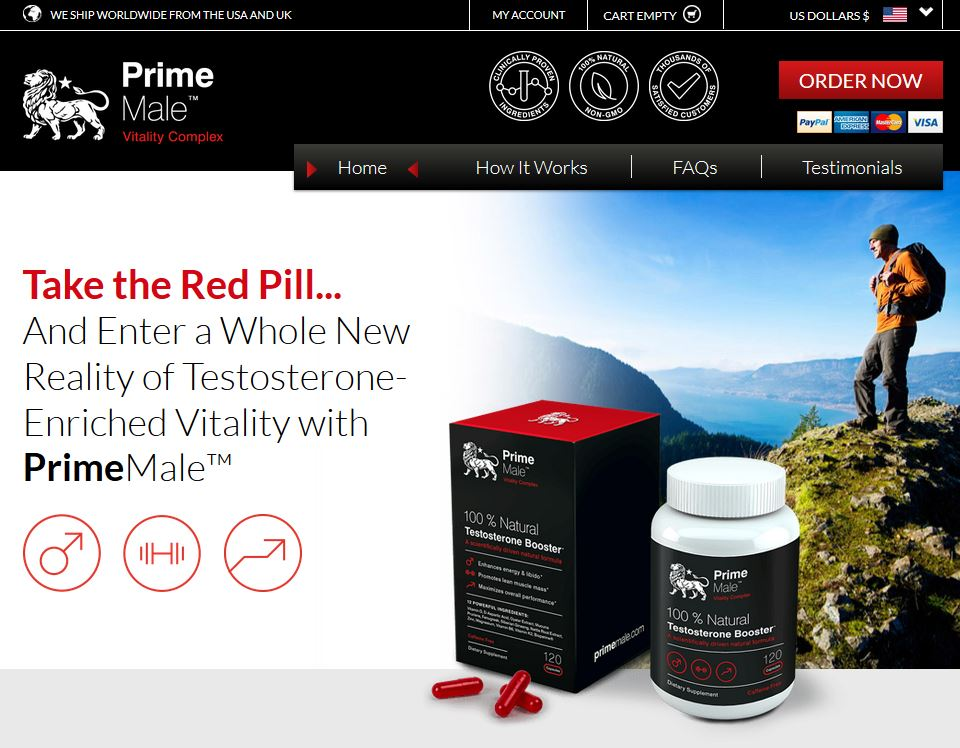 Prime Male Website