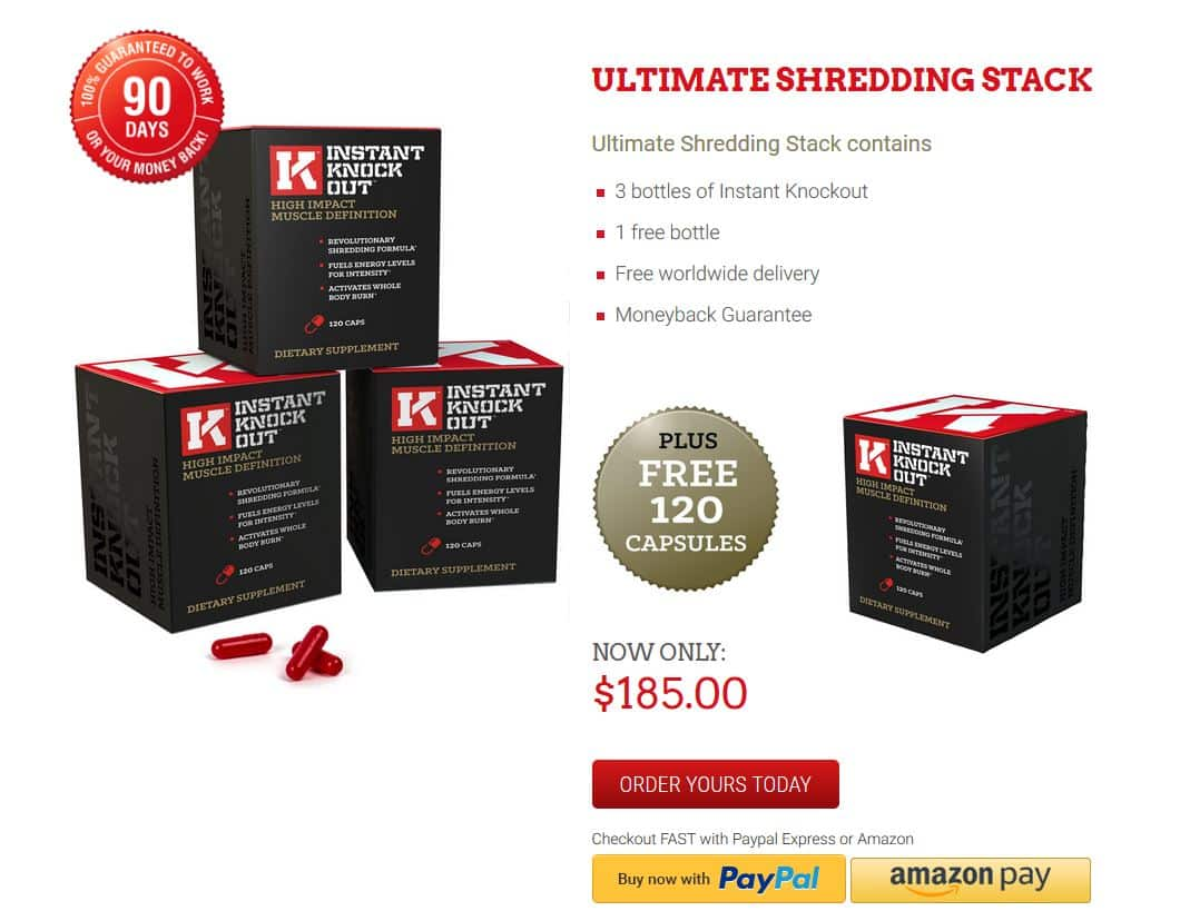 Ultimate Shredding Stack - Instant Knockout