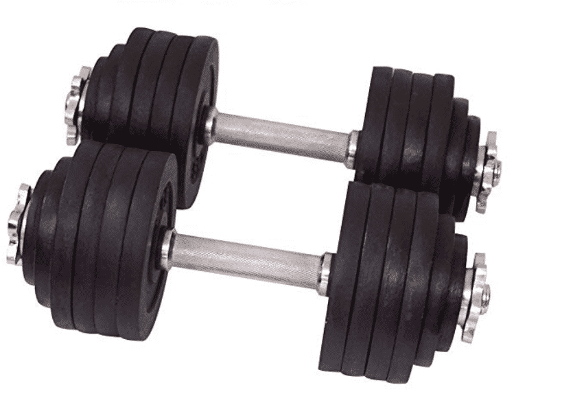 Unipack Adjustable Dumbbells Kit