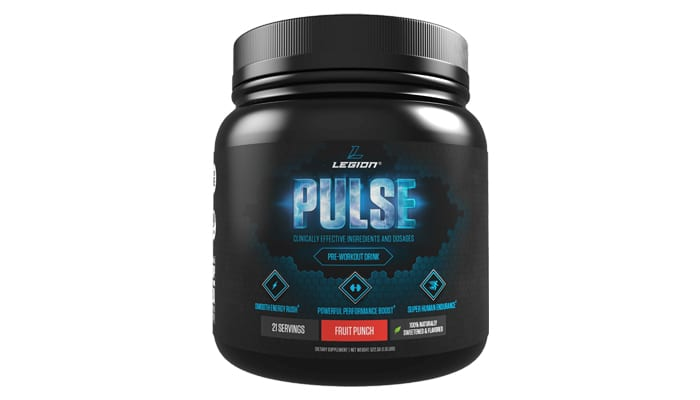 legion pulse pre-workout supplement