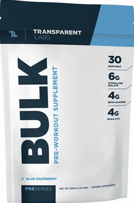 Transparent Labs Pre-workout