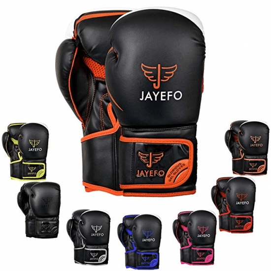 Jayefo Glorious Boxing Gloves Muay Thai Kick Boxing