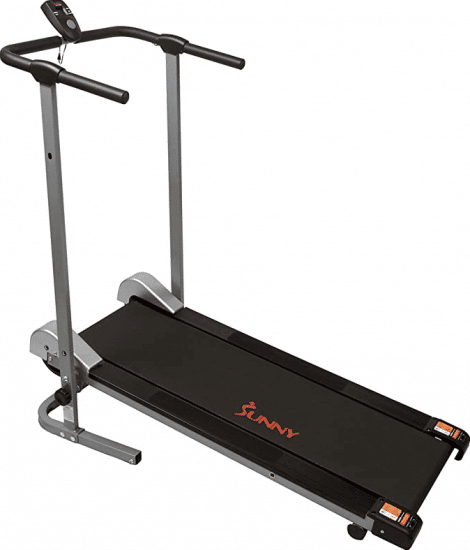 Sunny Health & Fitness SF-T1407M Manual Walking Treadmill