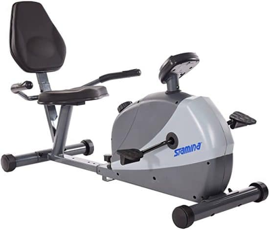 Stamina Magnetic Resistance Recumbent Exercise Bike