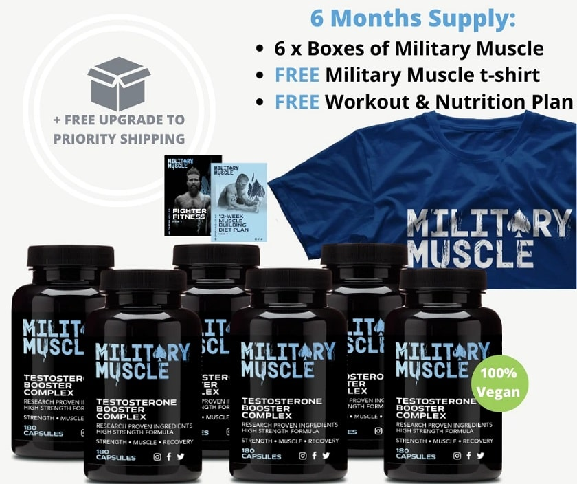 Military Muscle-6 months package
